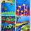 Thumbnail: Set of 4 animals postcards
