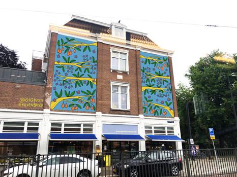 Mockup mural