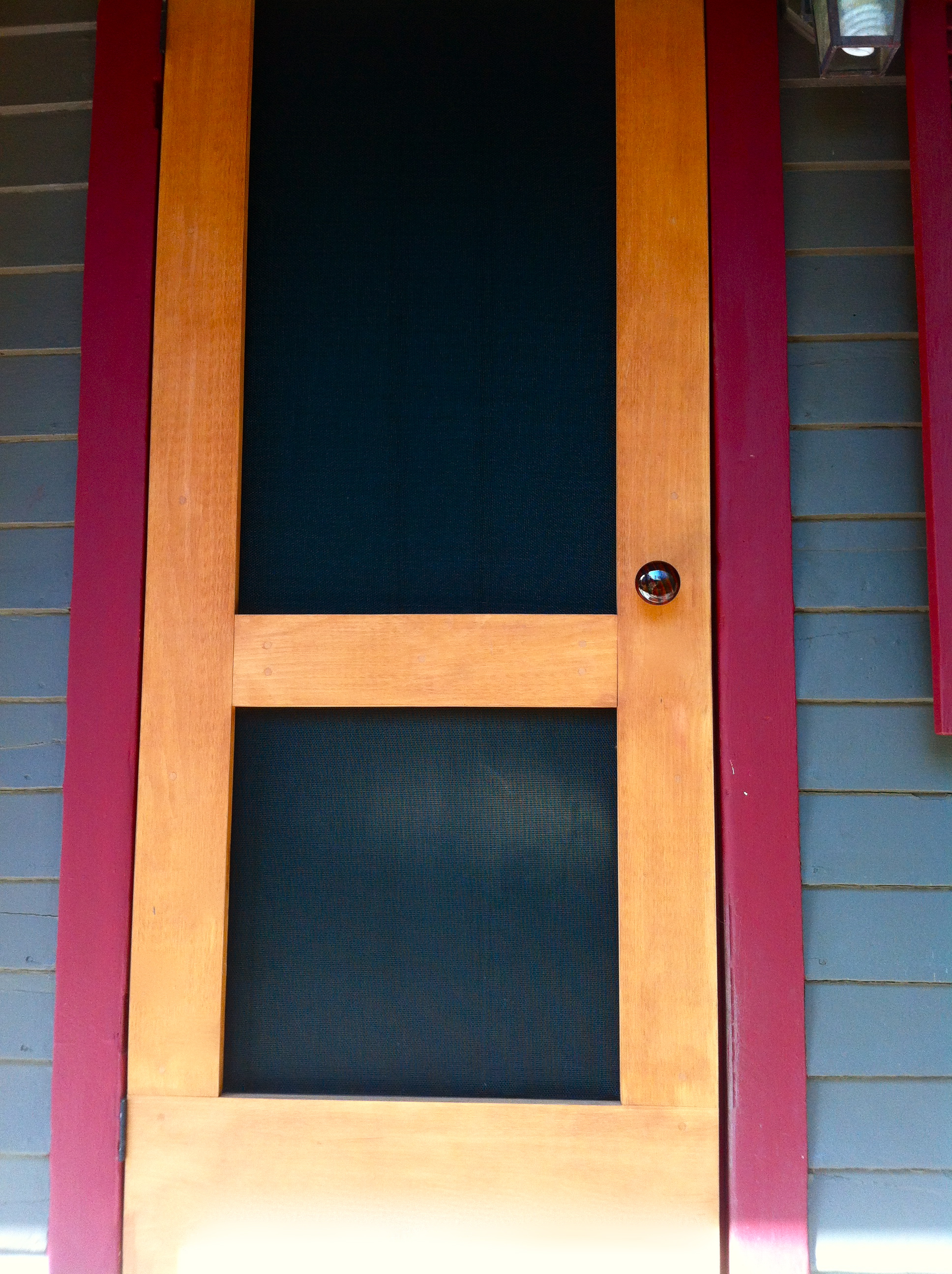 Custom Storm •Screen Door