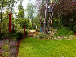 Whimsical Cottage Garden