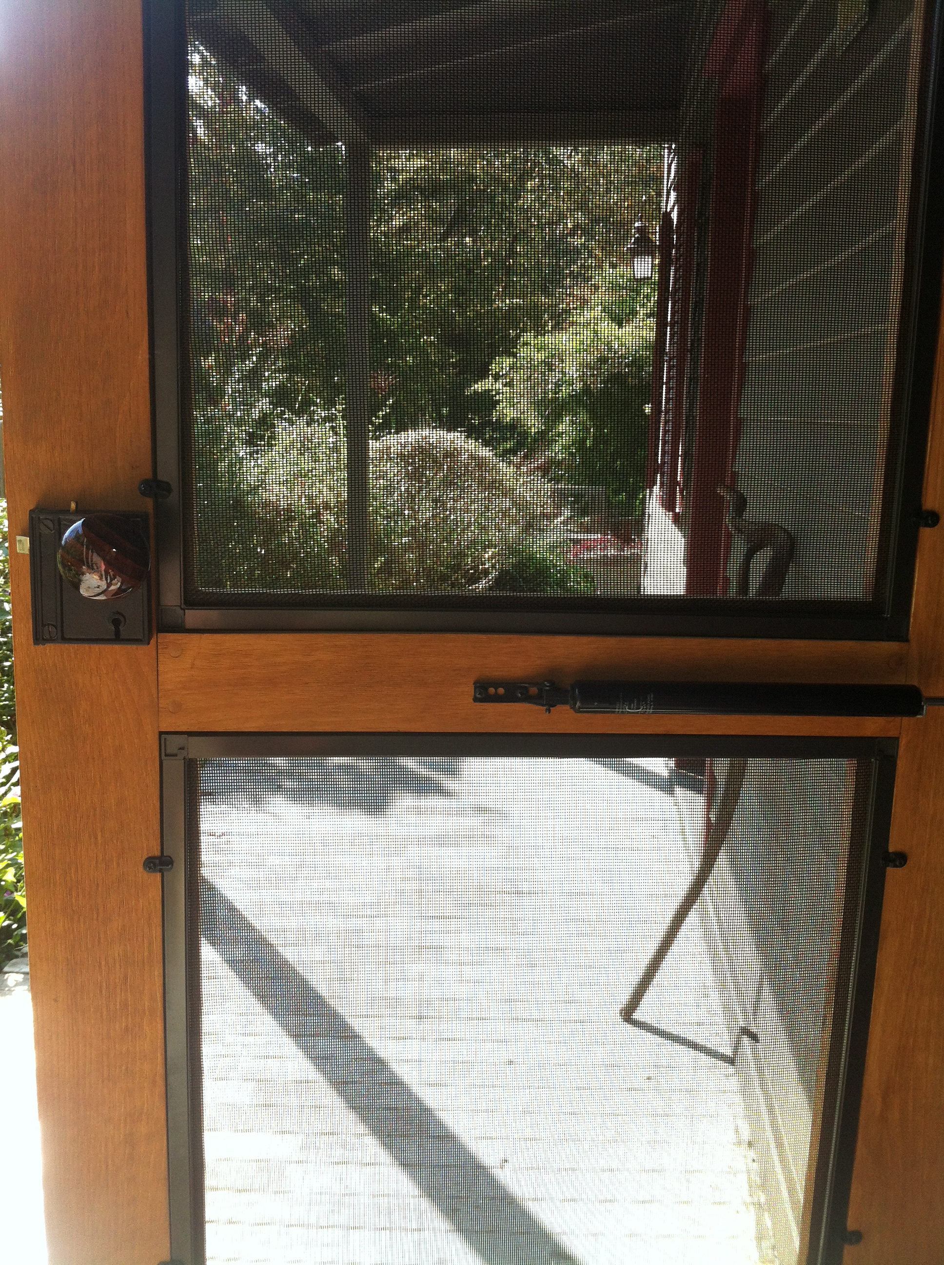 Custom Screen • Storm door