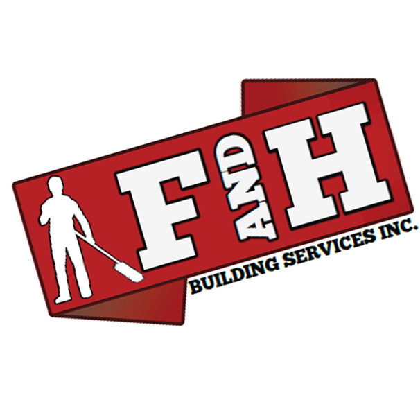 F & H BUILDING SERVICES LOGO