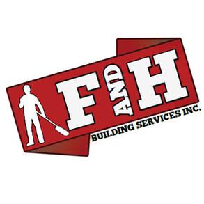 F & H BUILDING SERVICES LOGO