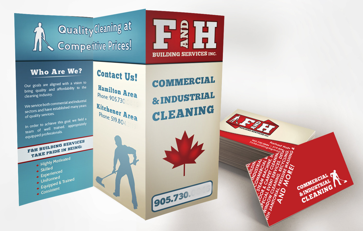 FH BROCHURE & BUSINESS CARD