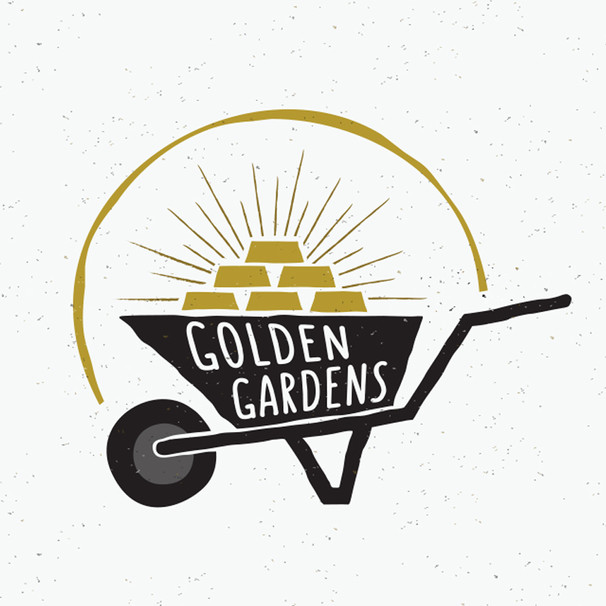 GOLDEN GARDENS SUPPLY LOGO SAMPLE