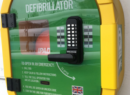 We now have a defibrillator