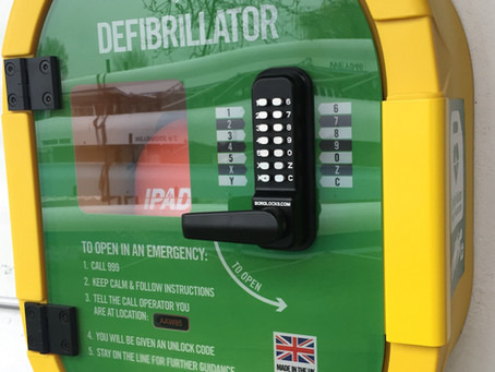 We now have a defibrillator
