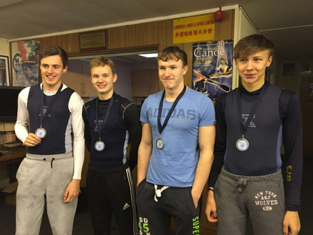 J16 Coxless Quad: first win of 2018