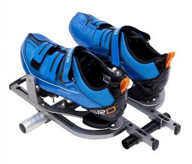 WEY to be safe: Quick-release foot-stretchers