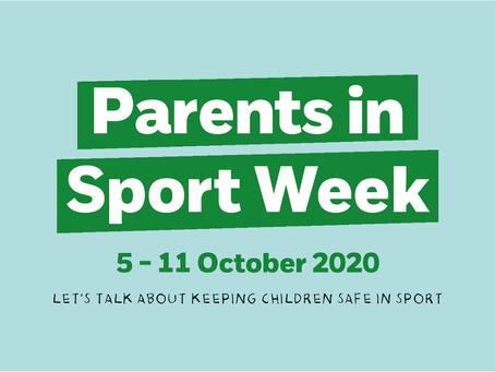 Parent in Sport Week