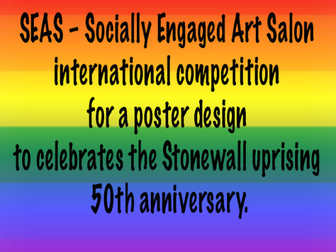 International poster design Competition celebrating the uprising's Stonewall 50th Anniversary