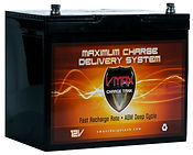 VMAX 85 Amp AGM Solar Battery