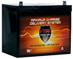 VMAX 65 Amp AGM Solar Battery
