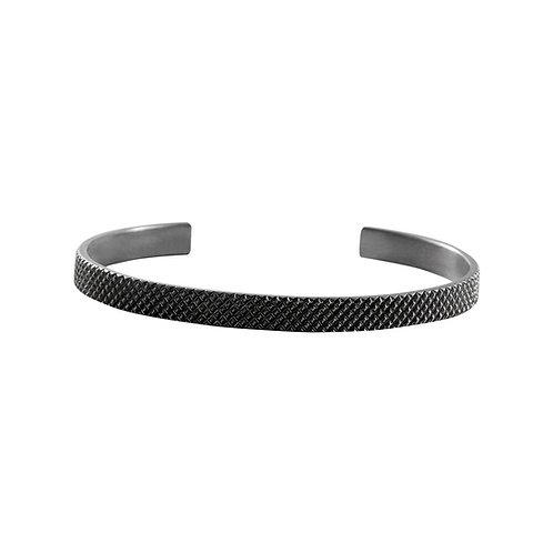 Grip silver bracelet / Janni Krogh
