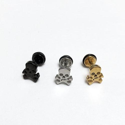 Skull & Crossbone stud