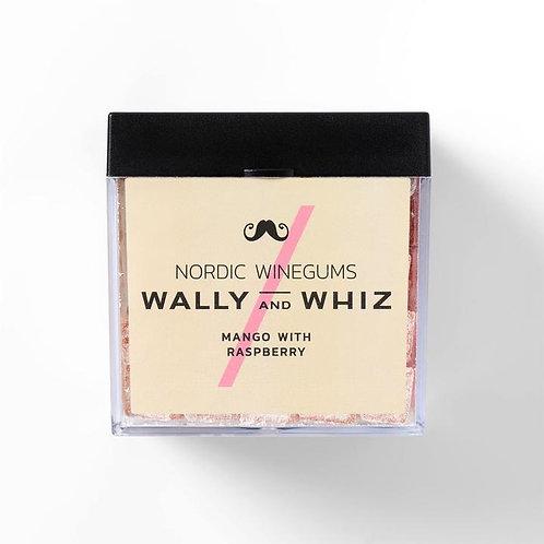 WALLY and WHIZ vegan winegums / mango withraspberry