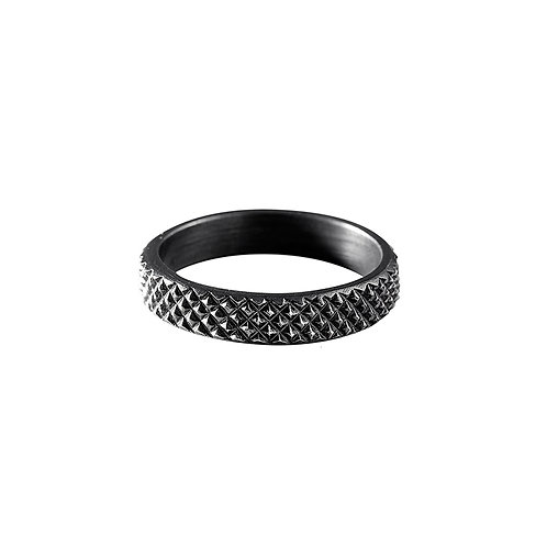 GRIP silver ring / Janni Krogh