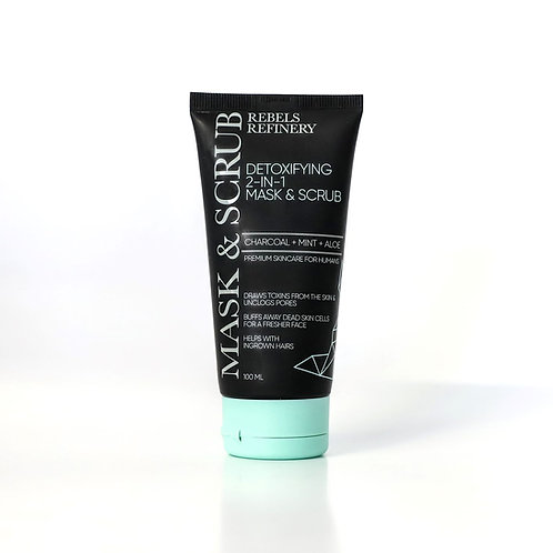 Organic Activated Charcoal Face Scrub / Rebels Refinery