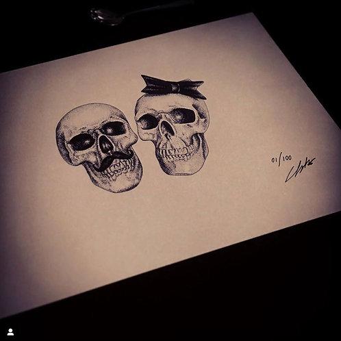 Mrs & Mr Skull / Chantale Coady-McCombs