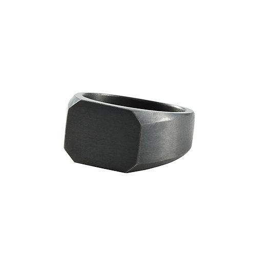 Signet silver ring / Janni Krogh