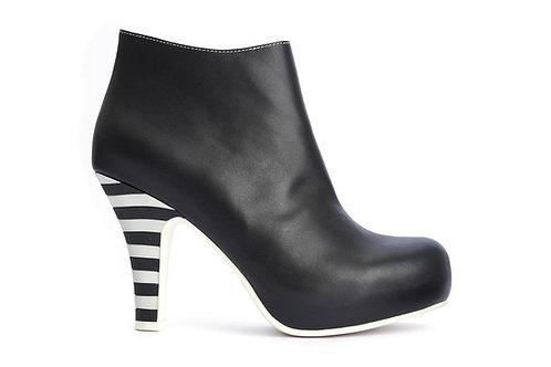 Black & White Ankle Boot Angie 2-Tone / Lola Ramona