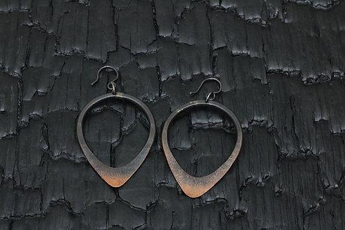 Stheno copper earring / Osa Ozdoba