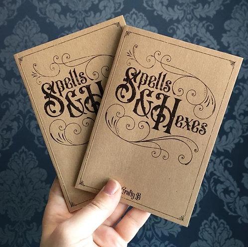 Spells & Hexes notebook / The Crafty Burreato