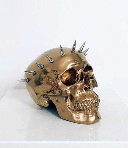 Golden Liberty Skull