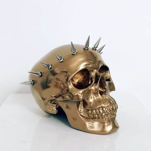 Golden Liberty Skull
