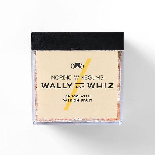 WALLY and WHIZ vegan winegums /mango with passion fruit