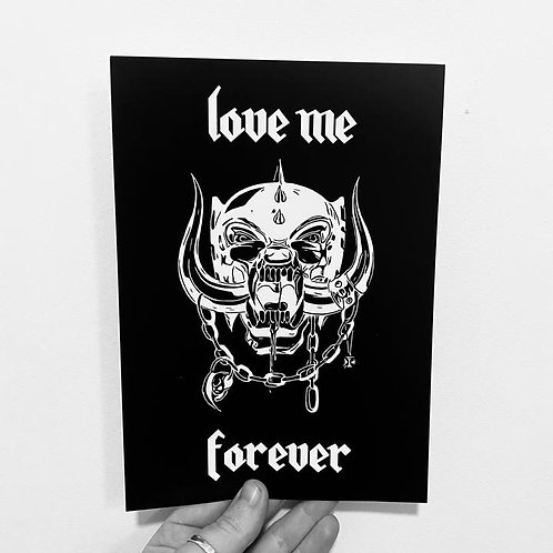 Love Me Forever Greeting Card / You're So Cool