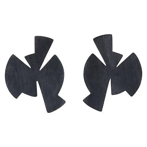 EXPO silver earrings / Janni Krogh