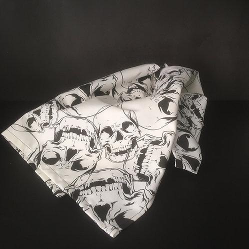 Skull Tea Towel