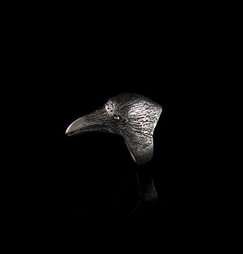 Dark Bird ring / Rock'n'Gold