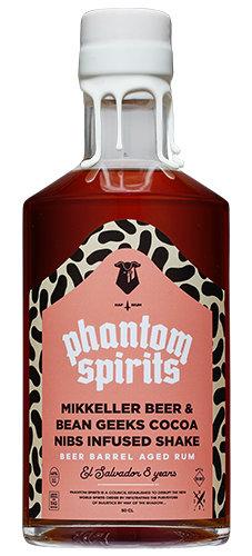Barrel Aged Beer & Bean Geeks Cocoa Nibs Infused Shake / Phantom Spirits