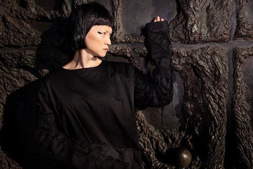 Black Dark Shirt Dunkelheit / KLEIDUNGS|WERK