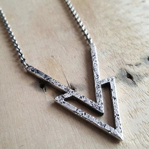 RAW ARROW necklace / Maureen Centen