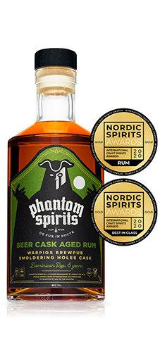 Warpigs Smoldering Holes rum 4yo / Phantom Spirits