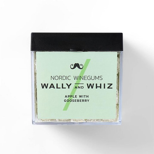 WALLY and WHIZ vegan winegums /apple with gooseberry