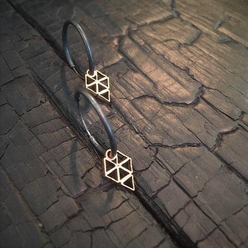 JAVELIN big earrings / Osa Ozdoba