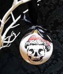 Christmas Santa Skull Ball / Weird & Wonderful Ceramics