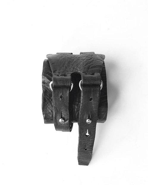 Leather Bracelet with Straps / Julia Fom