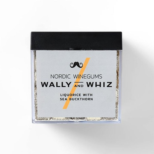 WALLY and WHIZ vegan winegums / liquorice with sea buckthorn