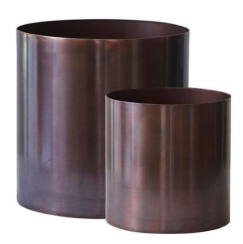 Copper Flowerpot - big