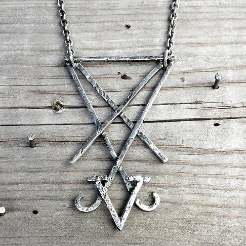 Lucifer Sigil necklace / Maureen Centen
