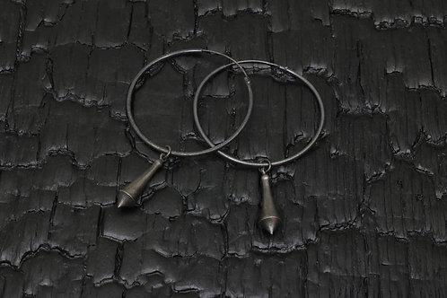 Drop large dangle earrings / Osa Ozdoba
