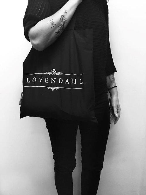 Big logo tote bag / LÖVENDAHL