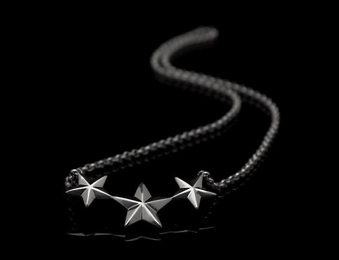 Stars necklace / Rock'n'Gold