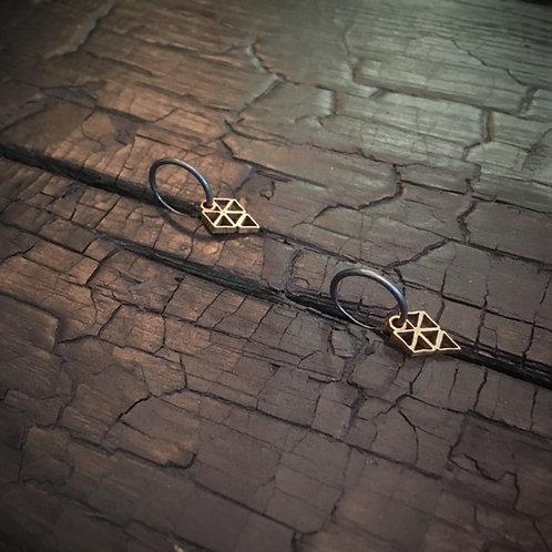 JAVELIN small earrings / Osa Ozdoba