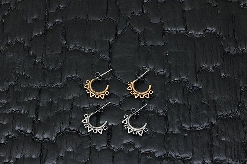 Crown earrings / Osa Ozdoba